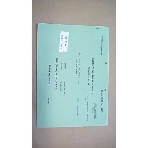 CLANSMAN CES CATALOGUE UK/PRC 351  (BASIC)